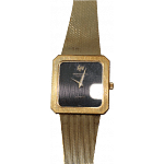 Raymond Weil Square Dial Gold Watch