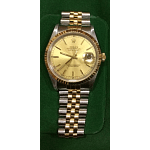 Rolex Datejust Steel Gold Watch