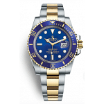Rolex Submariner Blue Steel Gold