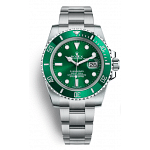 Rolex Submariner Green HULK Watch