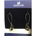 Swarovski Earrings with Faux Diamond Drop