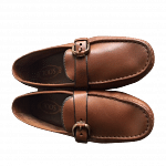TOD'S Brown Moccasin Drivers