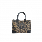 Tory Burch Leopard Print Shopper Tote