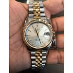 Rolex Datejust 36mm Steel & 18K Yellow Gold Champagne Index 116233