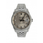 Rolex Datejust 36 Stainless Steel Diamond Dial