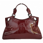 Cartier Red Patent Leather Small Marcello De Cartier Bag