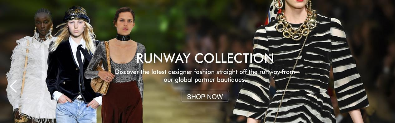 Runway Collection Homepage Banner